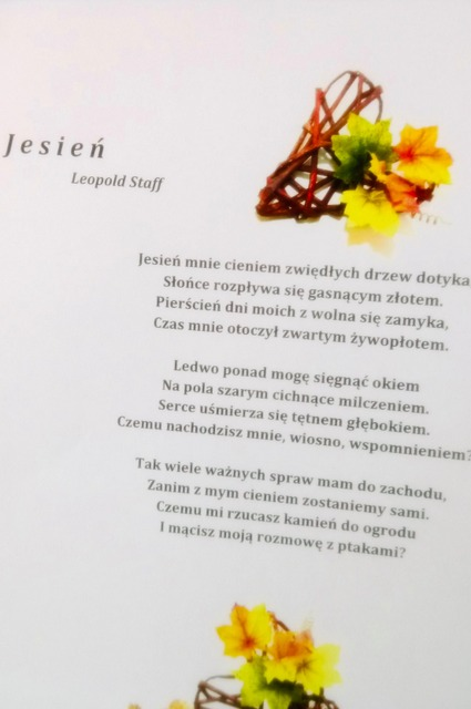 You are browsing images from the article: Jesień